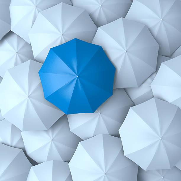 Différents, leader, meilleur concept unique et la discrimination - Photo