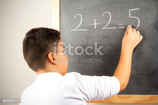 istock Different Math Formula On The Board 522202127