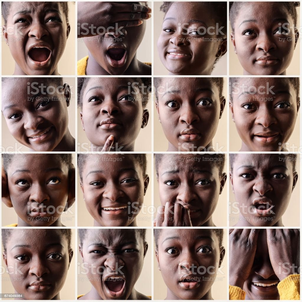 Different moods royalty-free stock photo