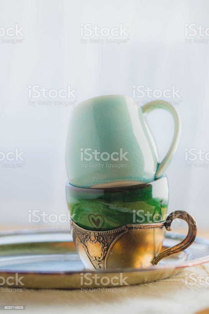 Et Photo Droit Libre Tasses Mugs Café Thé Ou De Différents Pour eYW9DHIE2