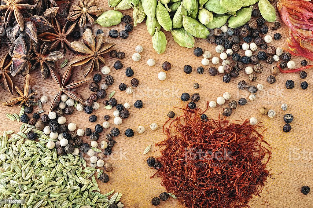 Different of Spice royalty-free stock photo