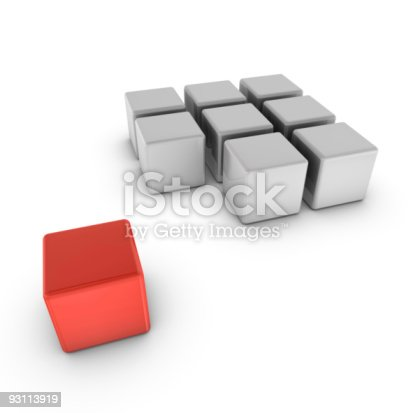 istock Different one concept 93113919