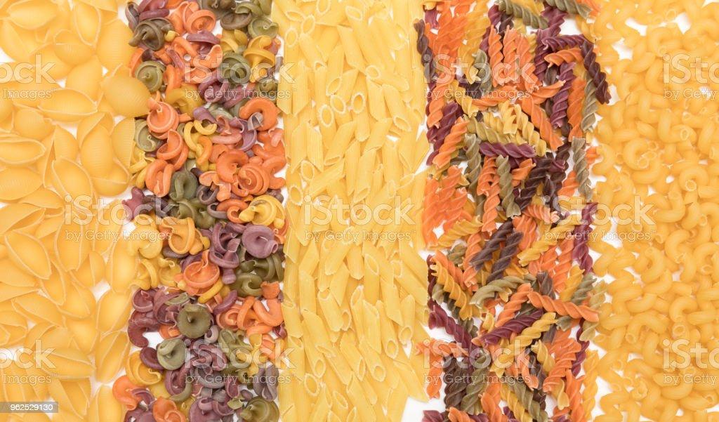 Tipos de massas diferentes - Foto de stock de Alimentação Saudável royalty-free