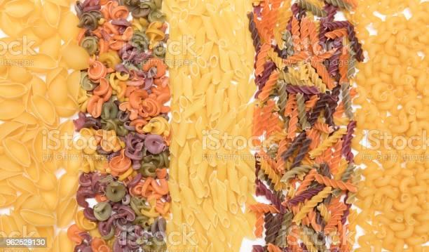 Foto de Tipos De Massas Diferentes e mais fotos de stock de Alimentação Saudável
