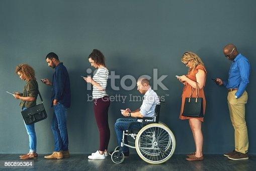 istock Different people but with the same habits 860895364