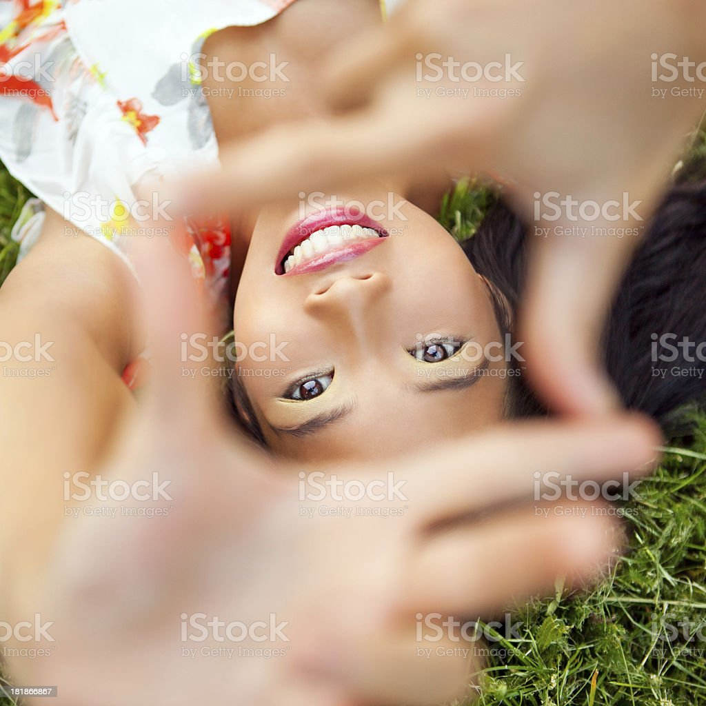 Different Perspective stock photo
