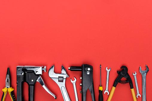 different reparement tools