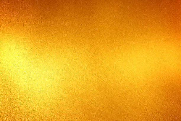 Different shades of gold on a background stock photo