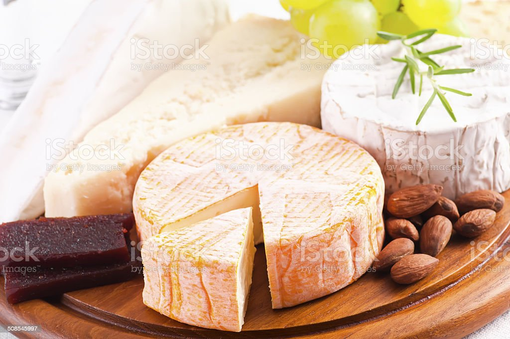 Different Sort of Cheese stock photo
