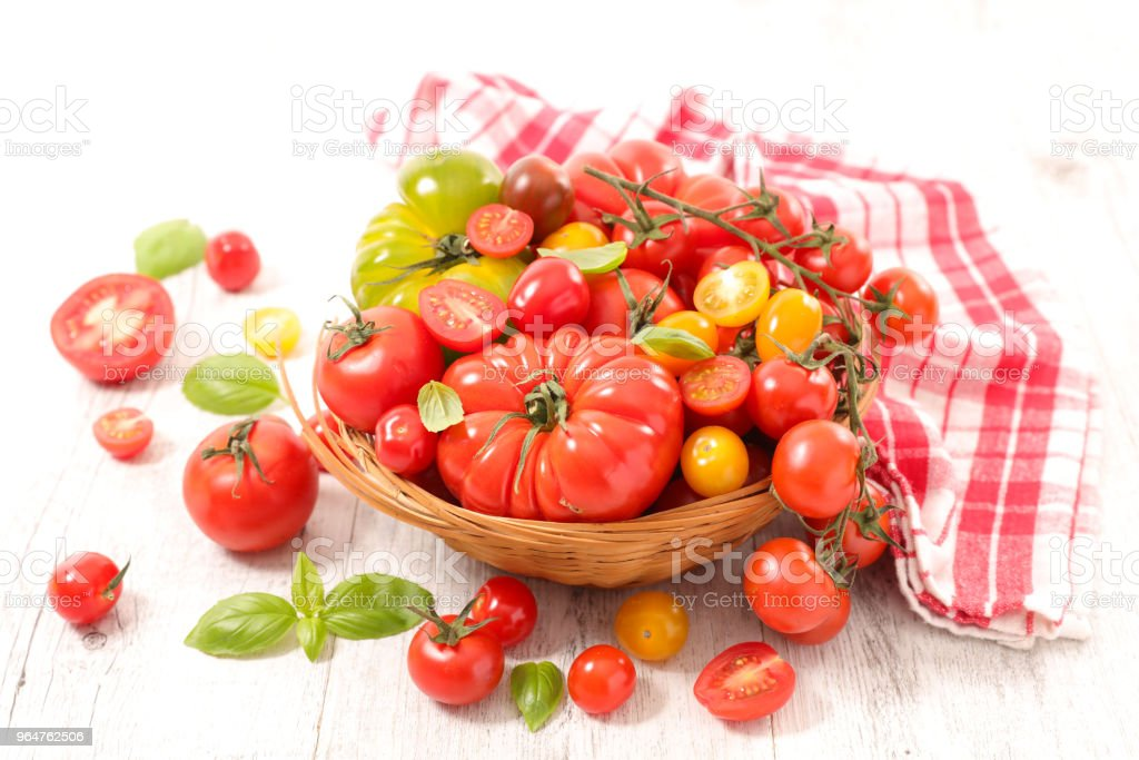different sort of tomatoes royalty-free stock photo