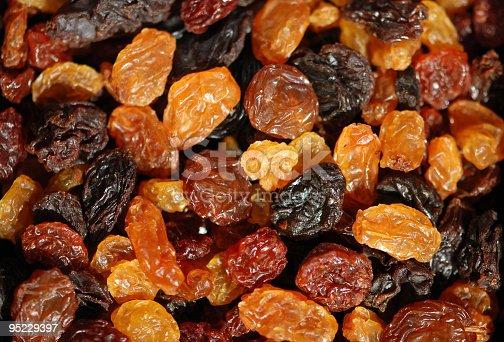 istock Different sorts of sundried Raisins 95229397