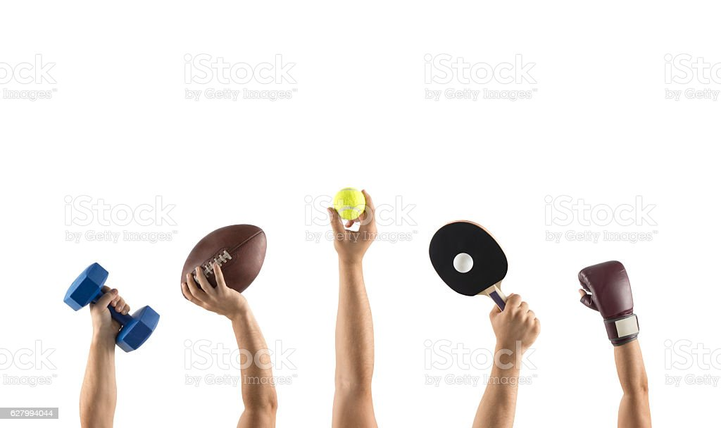 Different sports stock photo