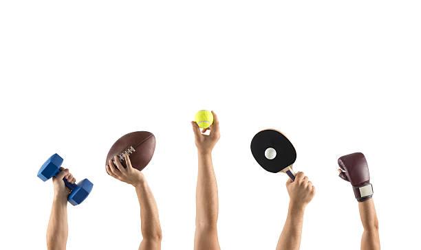 różne sporty - rakietka do tenisa stołowego zdjęcia i obrazy z banku zdjęć