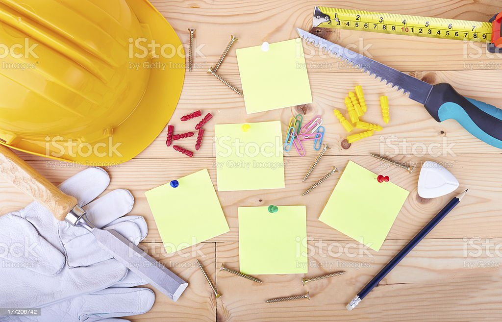 Different tools royalty-free stock photo