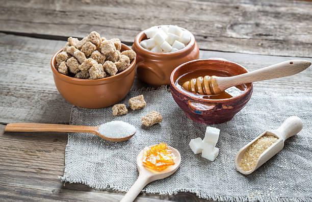 다양한 유형 및 양식 설탕 - 설탕 뉴스 사진 이미지