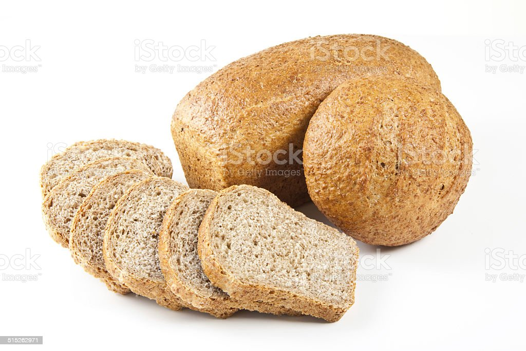 Different types of bread stock photo