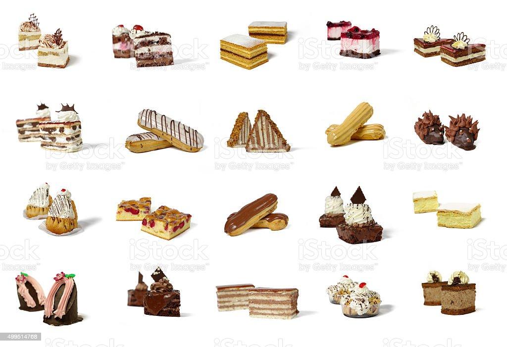 Différents types de produits de pâtisserie - Photo