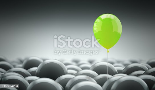 istock Different, unique and standing out of the crowd 667264294