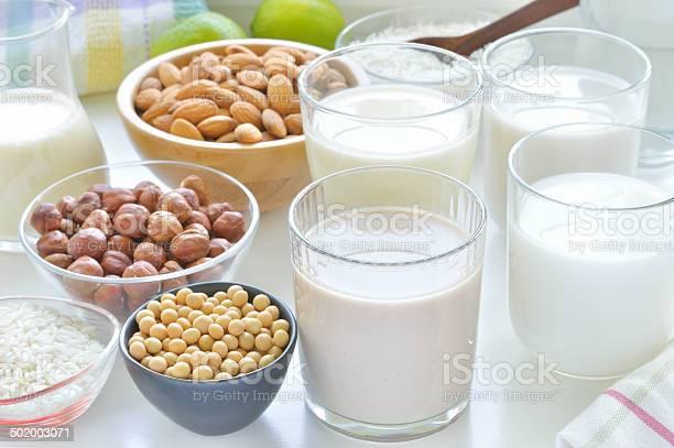 Different vegan milks picture id502003071?b=1&k=6&m=502003071&s=612x612&h=zfarbtsa2ldfal3z332ekydjmbqwtbyqyplz0aoqbk8=