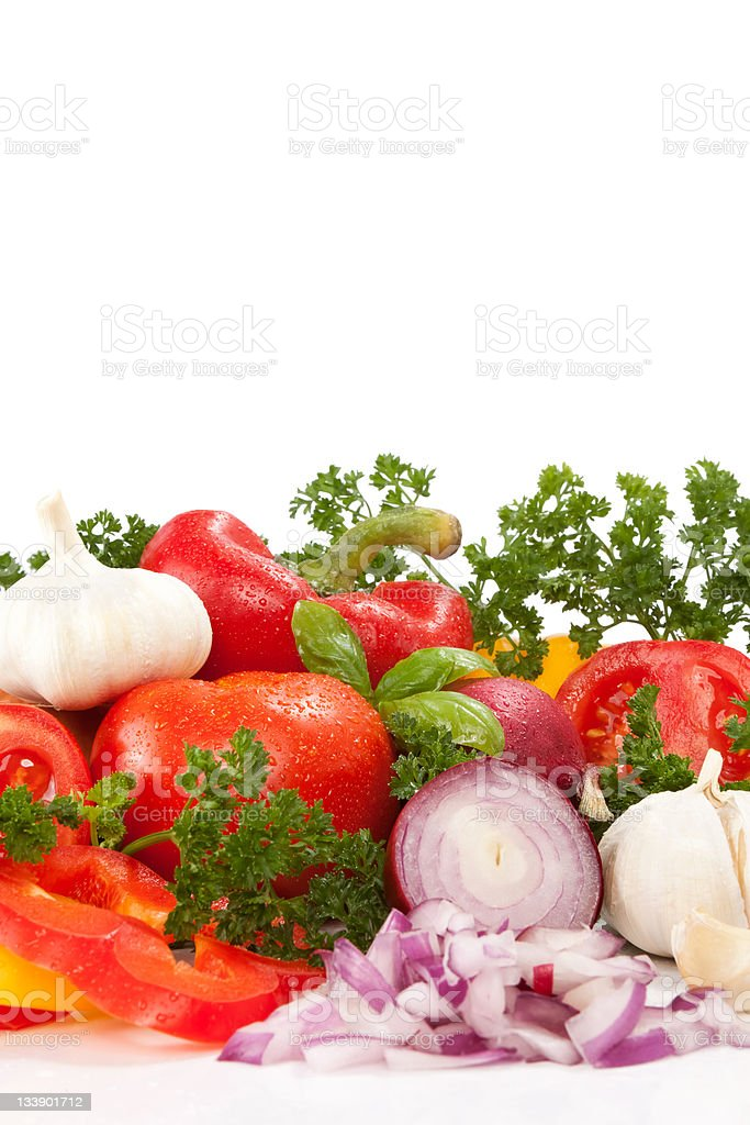different vegetables royalty-free stock photo