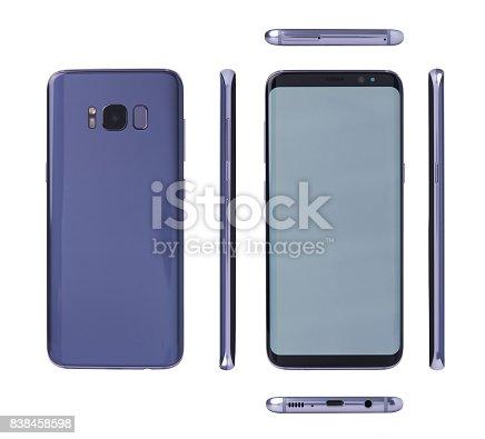 istock Different views of modern smartphone 838458598
