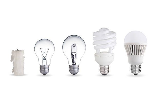 different ways of illumination - fluorescent light stock pictures, royalty-free photos & images