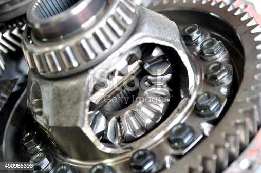 Differential from car gear box.
