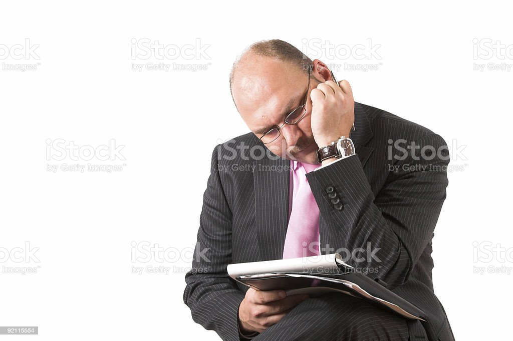 Difficult decisions royalty-free stock photo