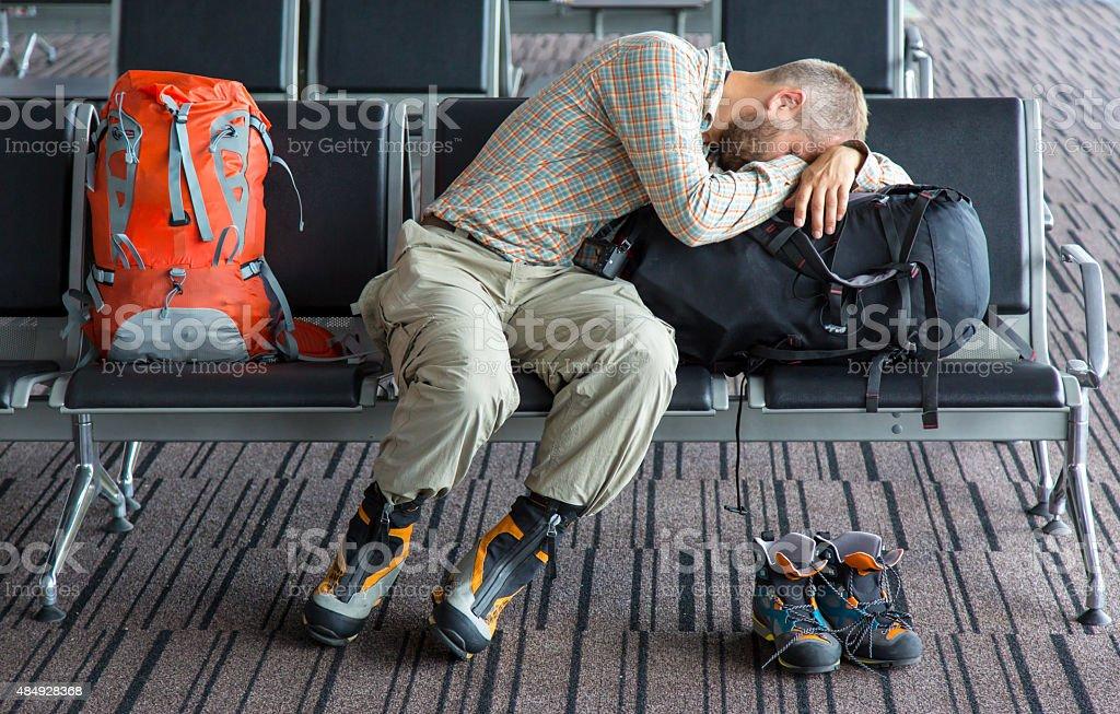 Schwieriger Reise - Lizenzfrei 2015 Stock-Foto
