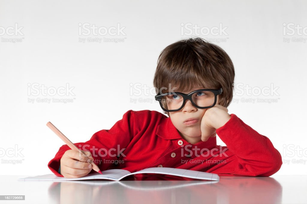 Difficult problem royalty-free stock photo