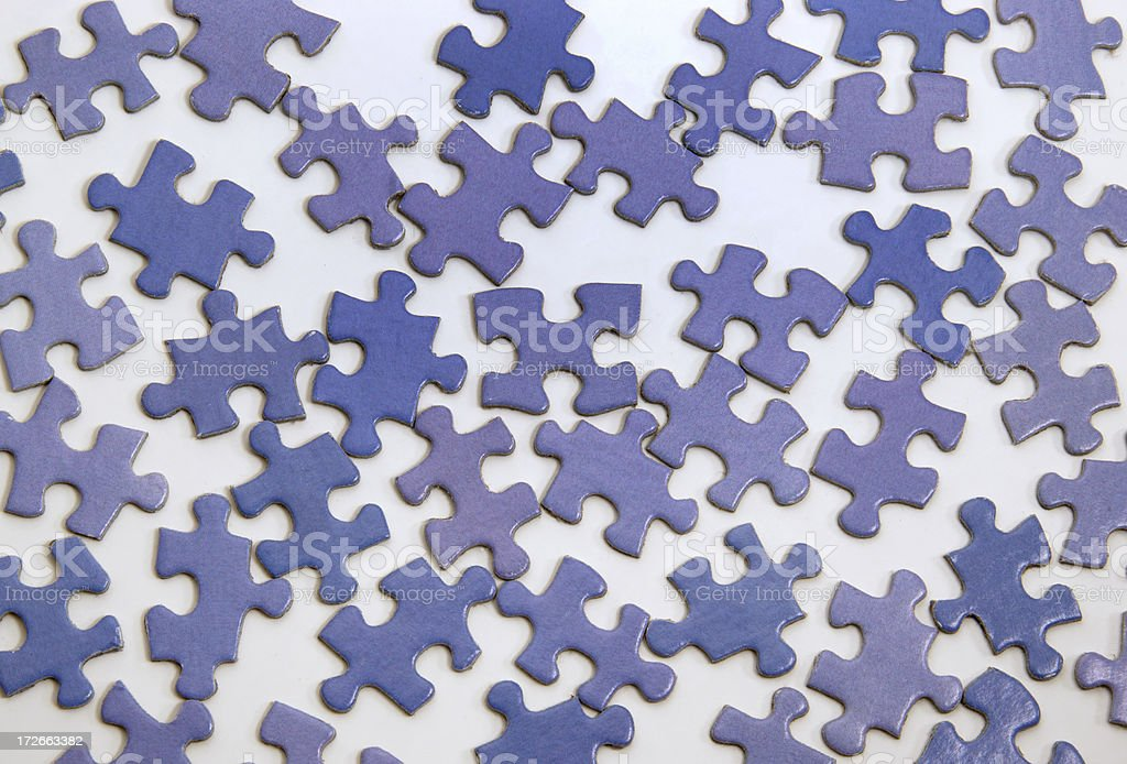 Difficult Puzzle royalty-free stock photo