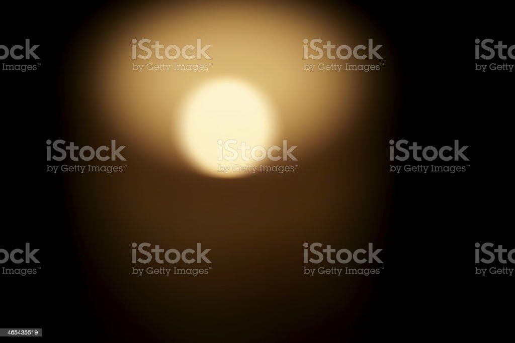 Diffuse candlelight stock photo