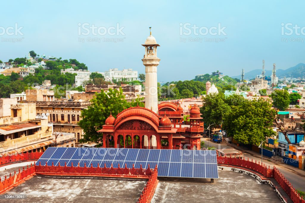 Digamber Jain Temple In Ajmer India Stock Photo Download Image Now Istock