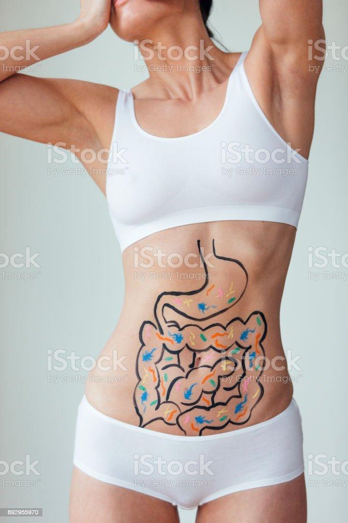 Digestive Problems stock photo