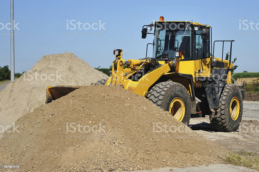 Digger stock photo