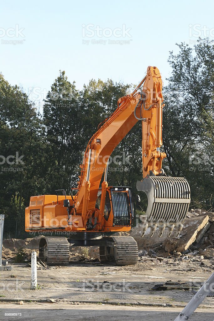 digger royalty-free stock photo