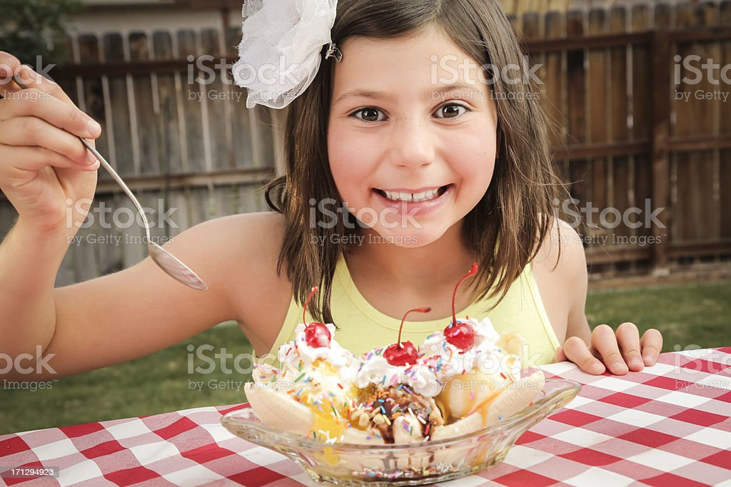 Digging In stock photo