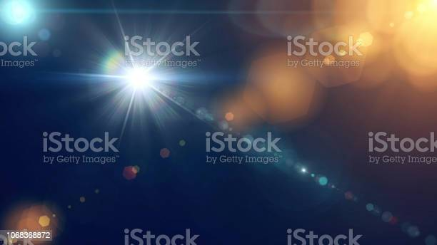 Photo of Digital Abstract Flare Background