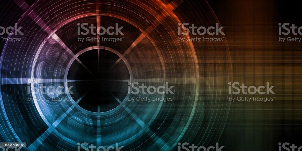 Digital Abstract stock photo