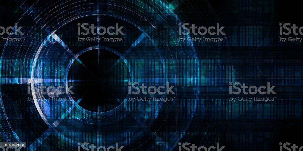 Digital Abstract - fotografia de stock