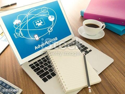 istock Digital advertising Technology 1181140849