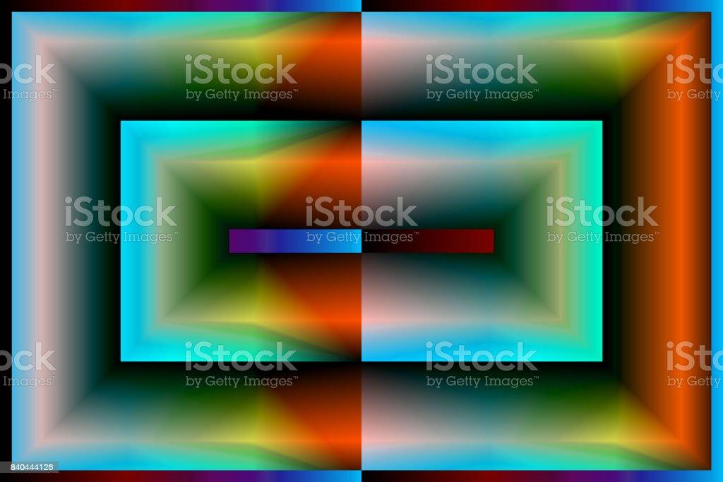 Digital Kunst, abstrakten dreidimensionalen Objekten mit sanfter Beleuchtung von Alfred Georg Sonsalla, Deutschland – Foto
