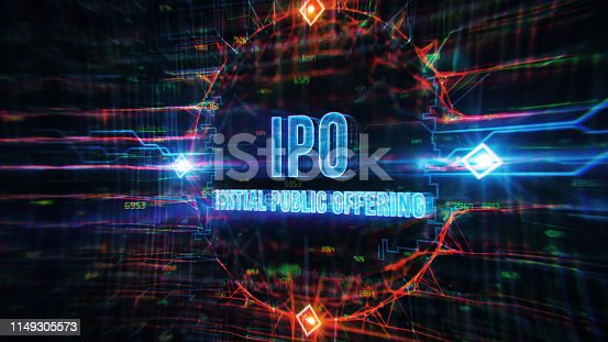 IPO Digital Background