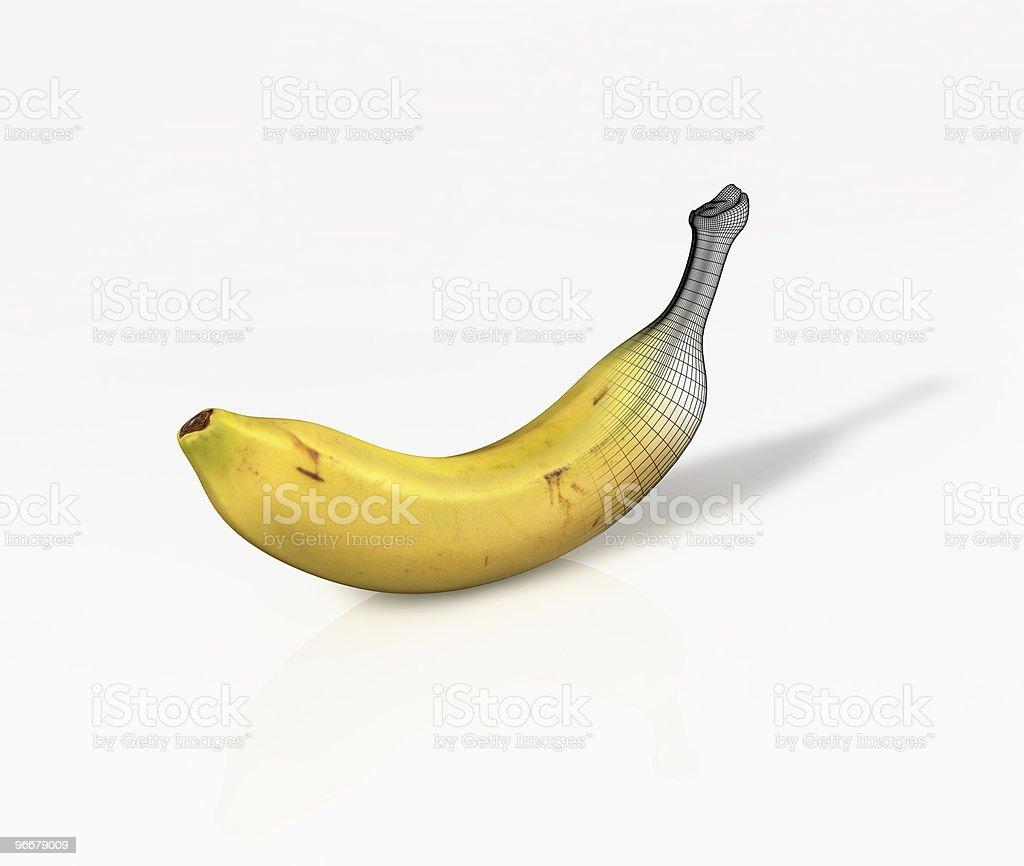 Digital Banana royalty-free stock photo