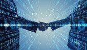 istock Digital binary code concept. 1032524356