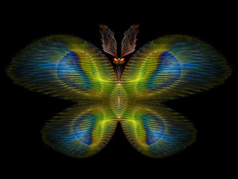 istock Digital Butterfly 461876625