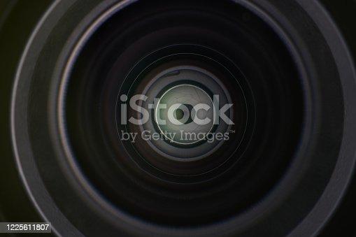 istock Digital camera lens 1225611807