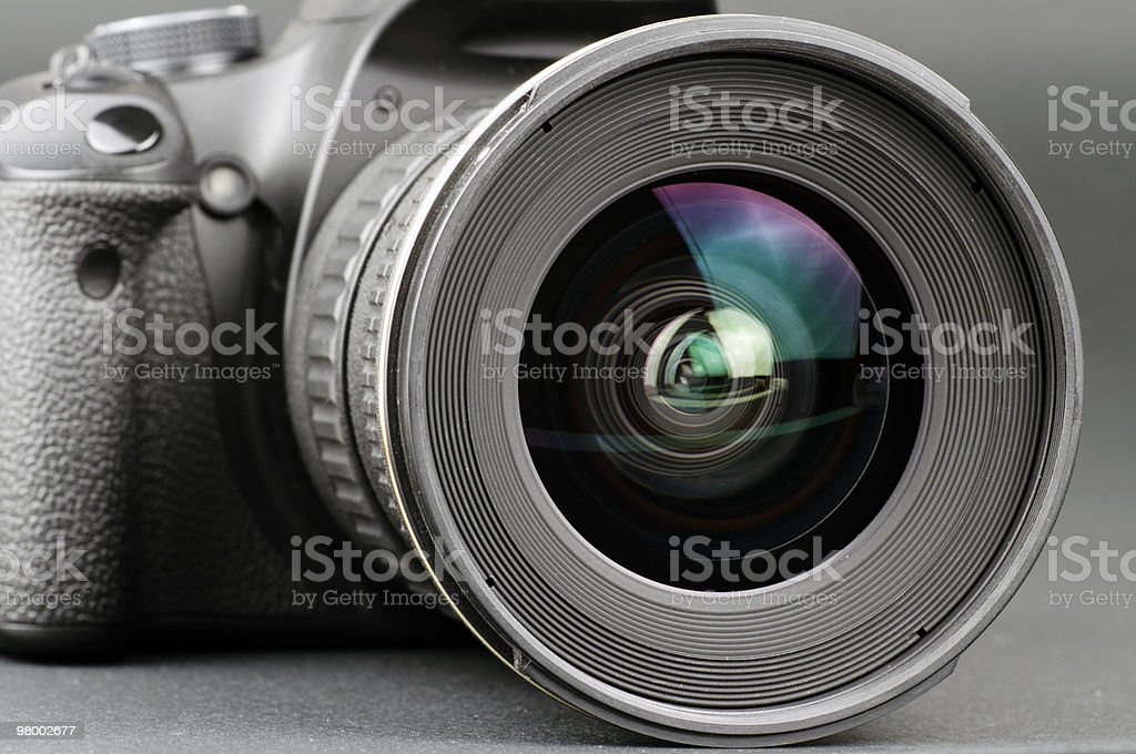Digital camera lens royalty-free stock photo