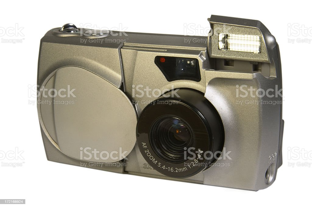 digital camera (isolated) royalty-free stock photo
