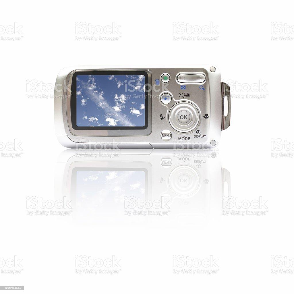 digital camera royalty-free stock photo